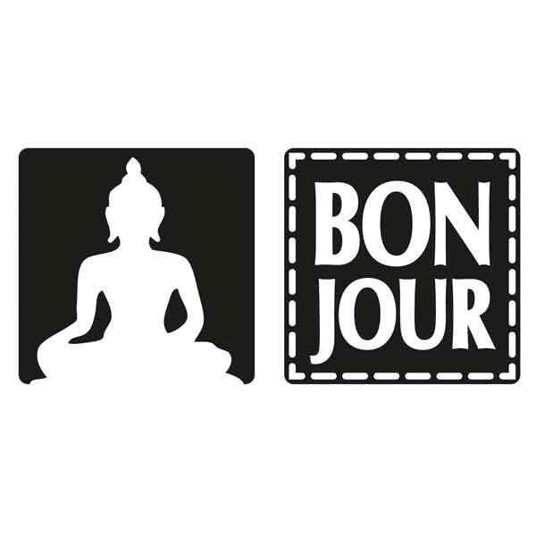 "RAYHER Seifenlabels ""Bon Jour"", Buddha"