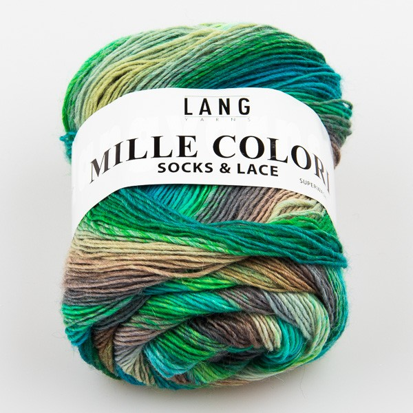 MILLE COLORI SOCKS & LACE von LANG YARNS