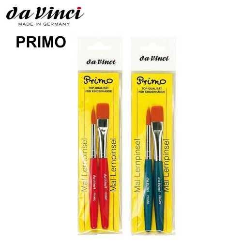 Mal- und Lernpinsel Set PRIMO Serie 5019 in rot oder blau, therapeutisches Arbeiten