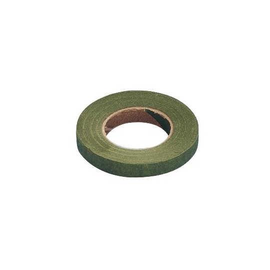 Flora-Kreppband 27,5m, Ø 26mm breit, oliv