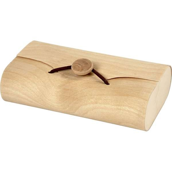 Holztasche Geschenktasche 13x8x3 cm