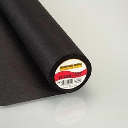 H250 Bügeleinlage schwarz