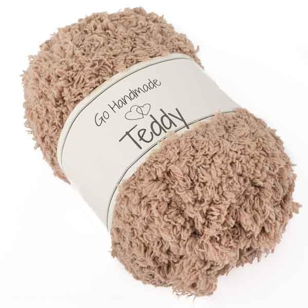 Go Handmade Teddy-Wolle 50g