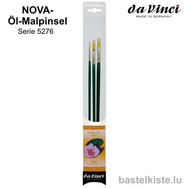 Da Vinci NOVA-Öl-Malpinsel Synthetics Set 5276