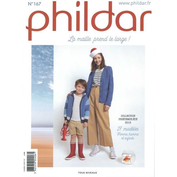"Phildar Strickanleitung Nr. 167 ""La maille prend le lange"""