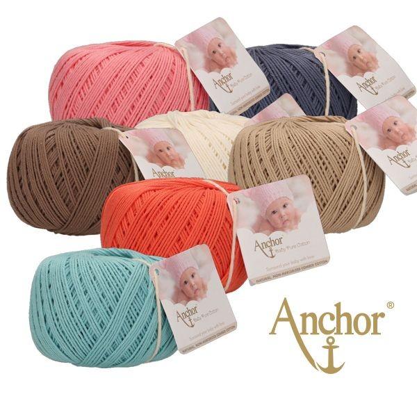 Anchor Baby Soft 4ply ✓ Top Preise ✓ Versandkostenfrei ab 20,- € DE, LU ✓ mez Anchor Baby Pure Cotton ✓ 100% Baumwolle ✓ Schnelle Lieferung