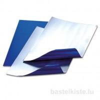 blau / silber