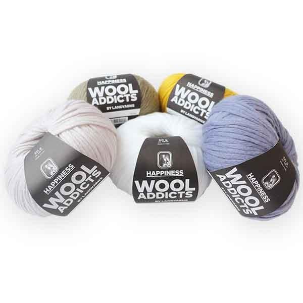 LANG YARNS ✅ WoolAddicts Happiness ✅ Kostenlose Lieferung ab 20€ DE, LU ✅ Große Auswahl ✅ Trusted Shops zertifiziert ✅ Qualität beim stricken erleben