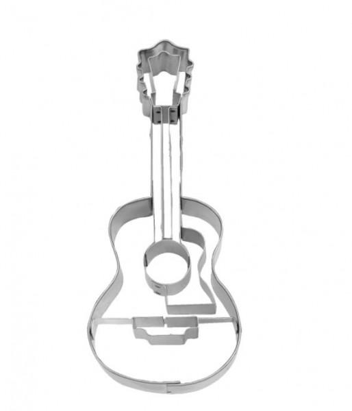 Präge-Ausstechform Gitarre 11 cm aus Edelstahl