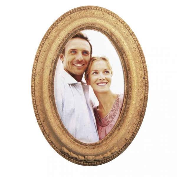 MDF-Fotorahmen oval 19x14x1,5cm