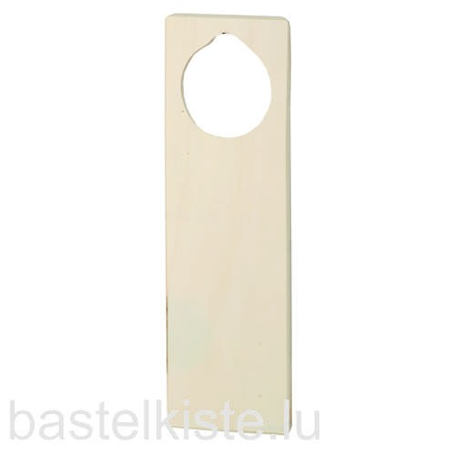 Türschild aus Holz 24 x 8 cm