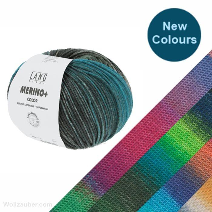 MERINO + (Plus) Color von LANG YARNS (new)