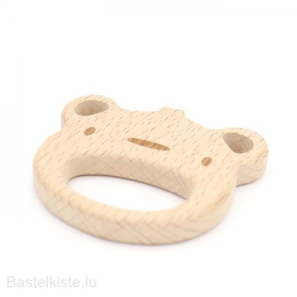 Holzbeissring Affe, Buche, 1 Stück