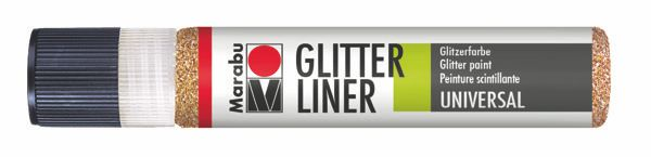586 Glitter-Rotgold