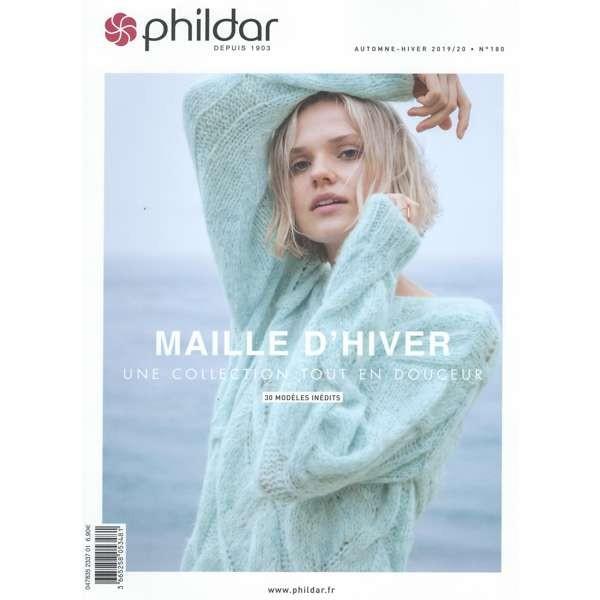 """Phildar Strickheft """"Maille d'Hiver' N°180"""