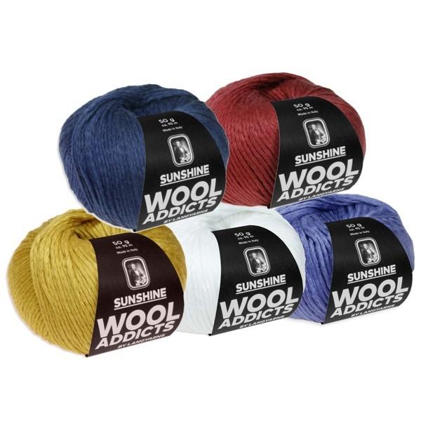 Wolle von LANG YARNS ✅ WoolAddicts SUNSHINE 50g ✅ Kostenlose Lieferung ab 20€ DE, LU ✅ Große Auswahl ✅ Trusted Shops zertifiziert ✅ Qualität beim stricken erleben