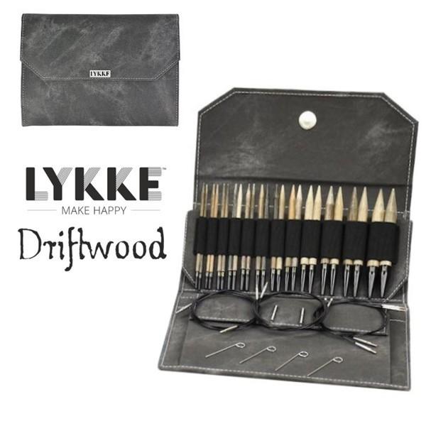 LYKKE driftwood knitting needles 5inch rundstricknadeln holz