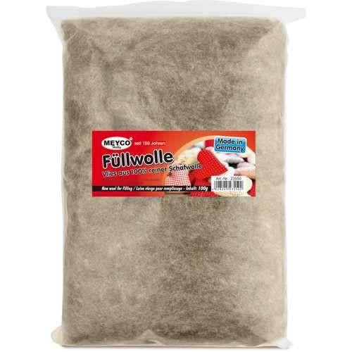 Füllwolle aus 100% reiner Schafwolle, 100g