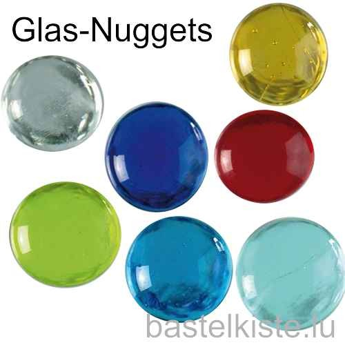 Glas-Nuggets Ø 18-20 mm 100 g