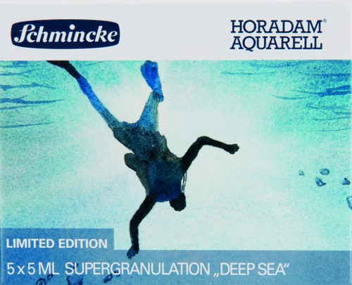 """HORADAM """"DEEP SEA"""" Aquarell Set 5 x 5ml Supergranulation"""