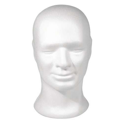 Styropor-Kopf männlich