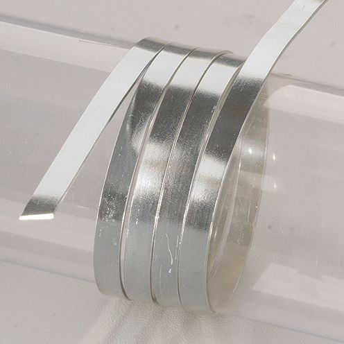 Aluminiumdraht flach 1x5mm, 2m
