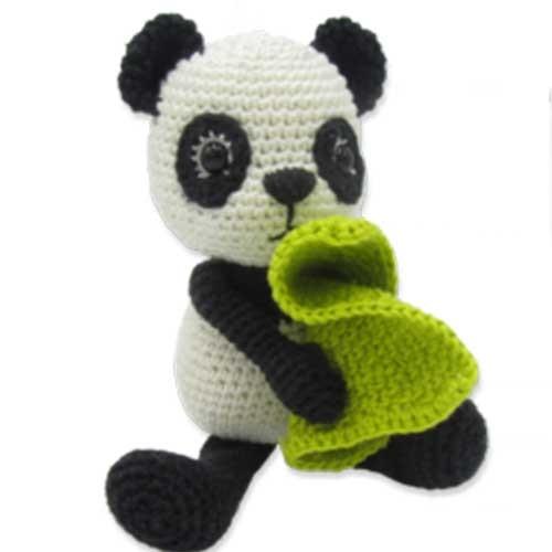 Häkelset TOM Panda (AMIGURUMI)