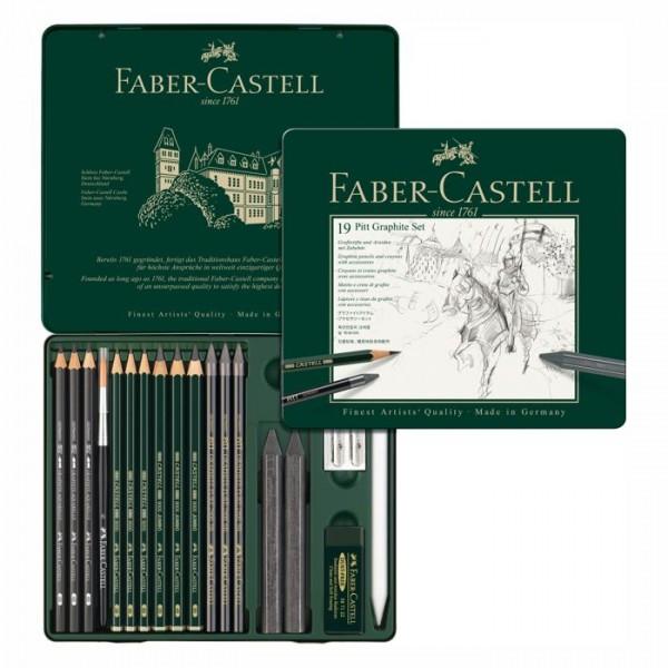 Faber Castell Pitt Graphite Set - 19 teillig
