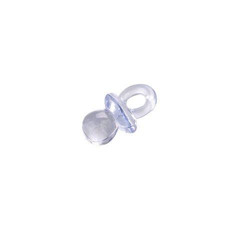 Babyaccessoire Acryl, Schnuller 20x12mm, blau