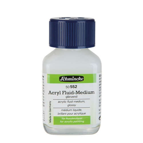 Schmincke Acryl Fluid-Medium 60ml ►glänzend◄