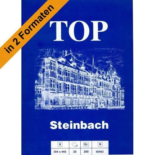 Blauer Steinbach Zeichenblock, Malblock 200g/m²