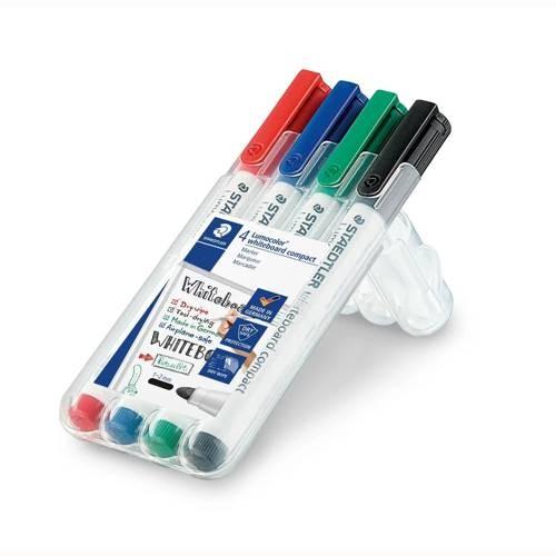 Lumocolor whiteboard marker 341, 4er Set
