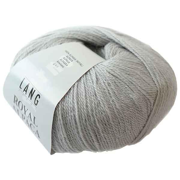50g Lang Yarns Royal Alpaca 60 LL 288m Nadelstärke 2,5-3