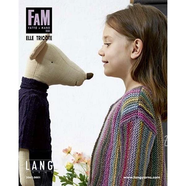 Lang Yarns FAM Fatto a Mano 254 Strickanleitung