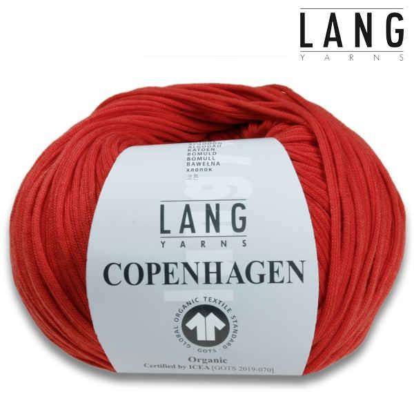 Copenhagen von Lang Yarns - GOTS zertifiziert 50g wollzauber 1035