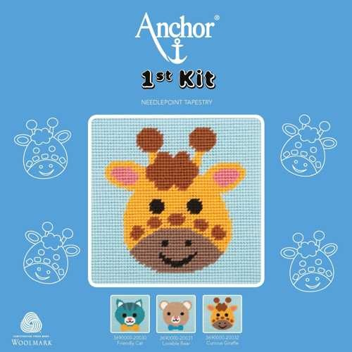 "Anchor Stickpackung, 1st KIT ""Curious Giraffe"""