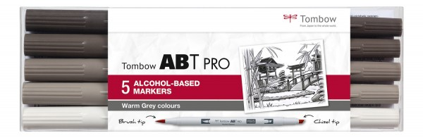 ABT PRO 5er Set Warm Grey Colors