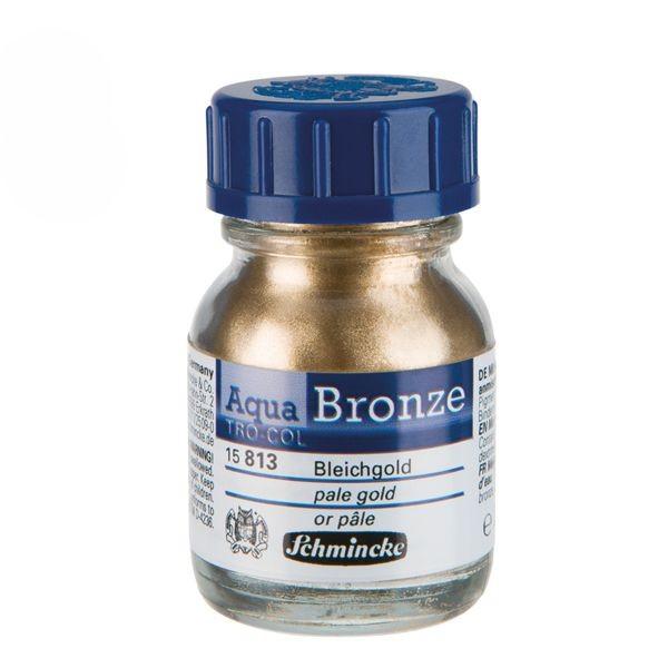 Schmincke Aqua BRONZE 20ml ►Bleichgold◄