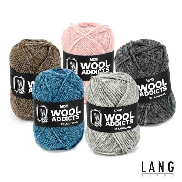 Lang Yarns Wooladdicts LOVE 1002