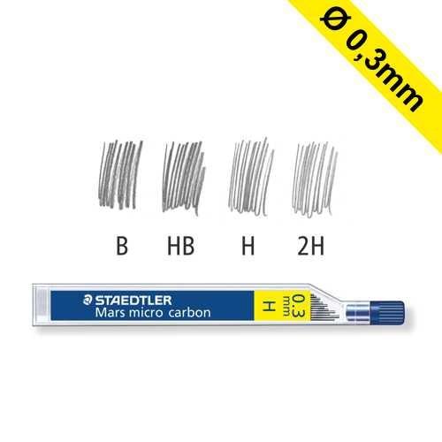 Nachfüllminen für Druckbleistift Ø 0,3 mm