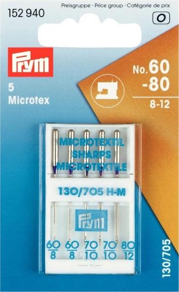 MICROTEX Nähmaschinennadel Gr.60-80 PRYM 152940