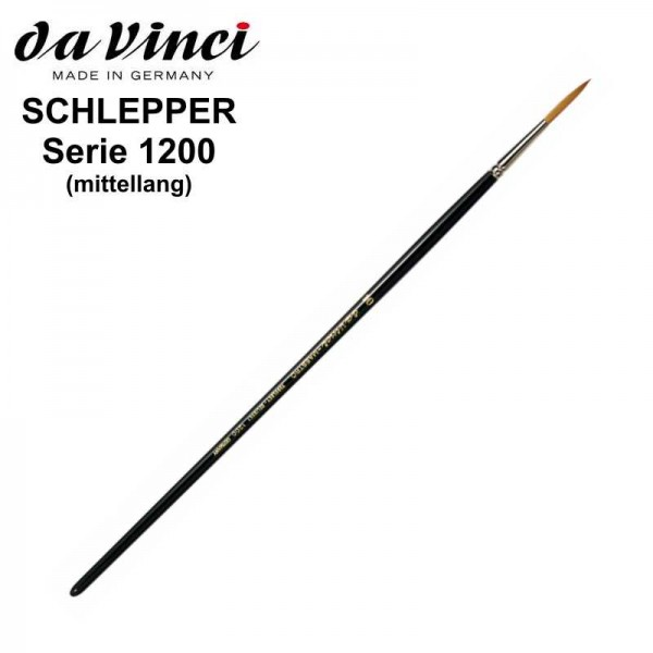 Schlepper, mittellang und spitz gebunden, Serie 1200