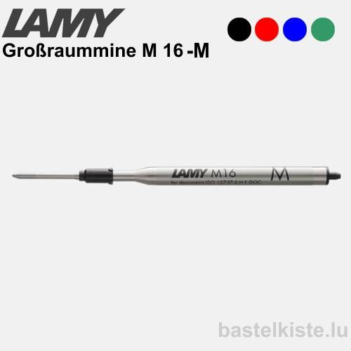 LAMY Kugelschreiber-Großraummine M16, Stärke M