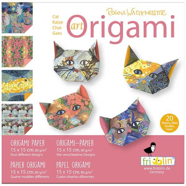 "Origami Faltblätter 80g/m² 15x15cm - 20 Blatt ""Wachtmeister"""