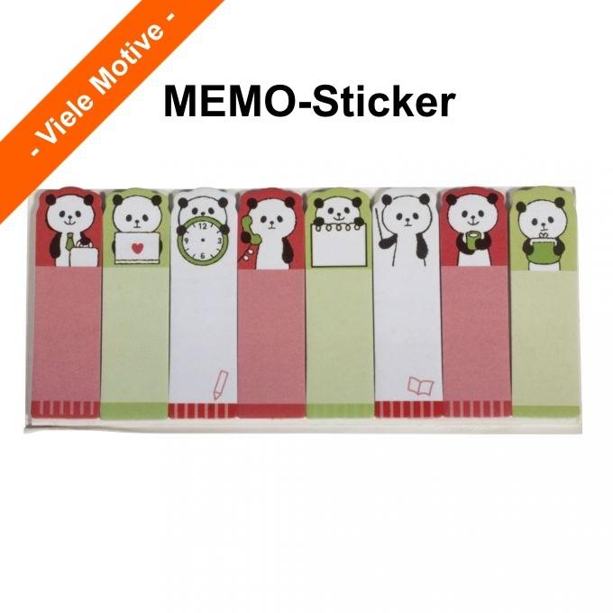 MEMO-Sticker 15 x 53mm, 8x 15 Blatt