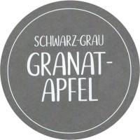 GRANATAPFEL Schwarz-Grau