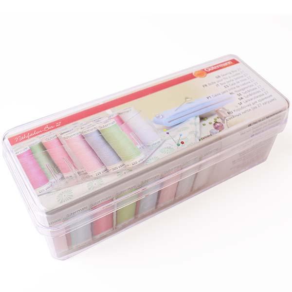 Sewing-Box, Aufbewarungs-Box für Garnspulen, Nähfadenspulen