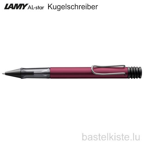LAMY AL-star Kugelschreiber black purple M