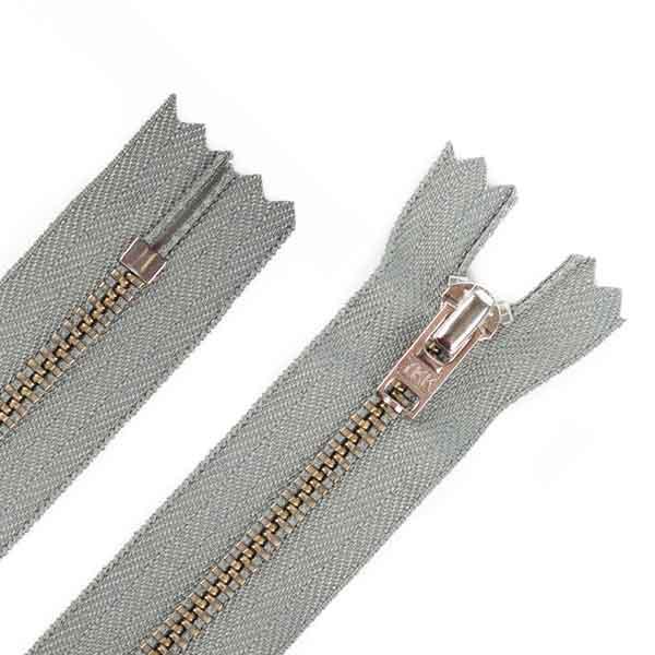 14cm Hosen Reißverschluss Metall