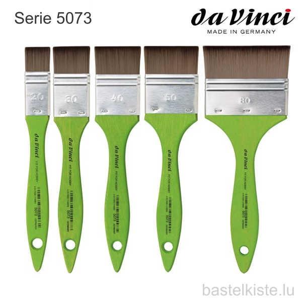 Flachpinsel FIT SYNTHETICS (grün) Serie 5073